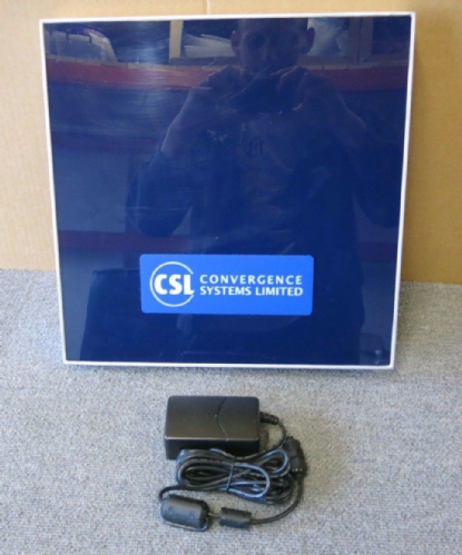 CSL CS203ETHER-RHCP EPC Class 1 Gen 2 UHF RFID Integrated Reader With AC Adapter